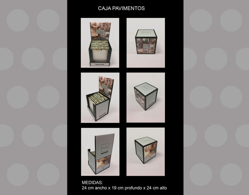 FLOOR TILE PRESENTATION BOX